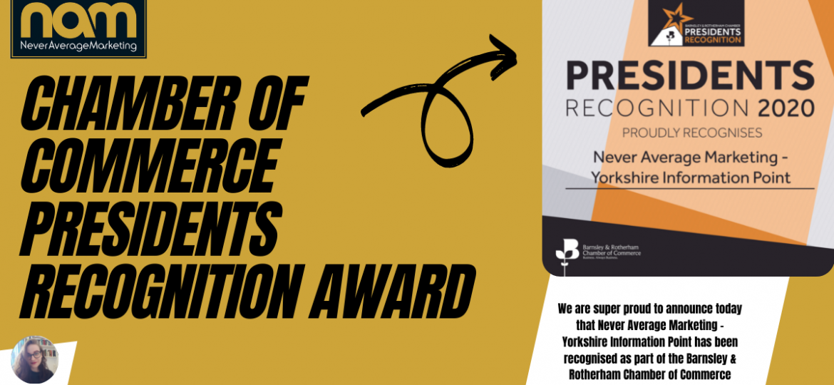 Chamber of Commerce Presidents Recognition Award