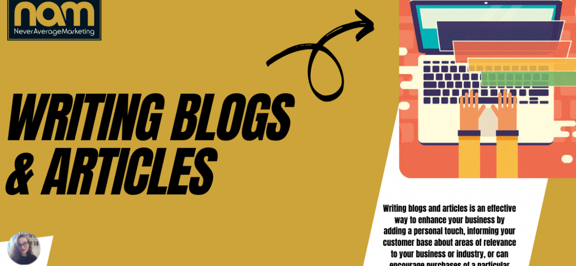 Writing Blogs & Articles